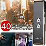Propósito general Traductor de voz inteligente Dispositivo compatible con 40 idiomas Traductor de id...