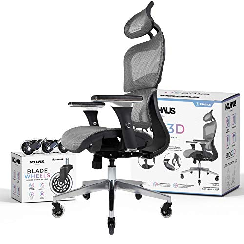 NOUHAUS Ergo3D Ergonomic Office Chair