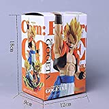 lkw-love Dragon Ball Z Angel Gogeta Vegeta Son Goku Fusion Super Saiyan Chocolate Figuration Figura ...