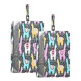 F17 - Bolsas de viaje para zapatos con flores tropicales de alpaca, bolsa de almacenamiento, impermeable, portátil, ligera, bolsa de almacenamiento para hombres y mujeres, 2 unidades