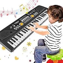 WOSTOO Piano Keyboard 49 Key, Portable Electronic Kids Keybo