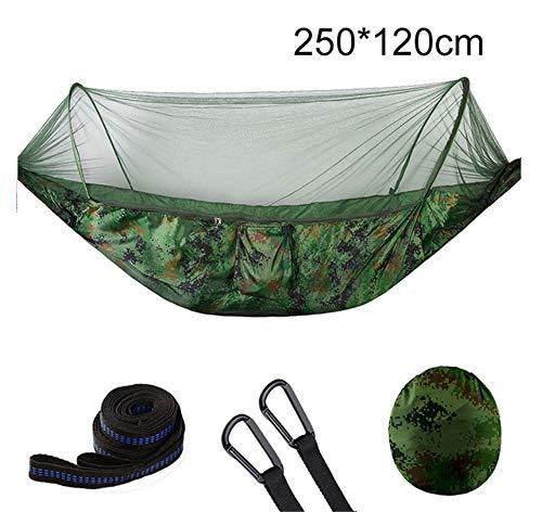 Générique Hamac Portable pour 1-2 Personnes en Tissu de Parachute à Suspendre