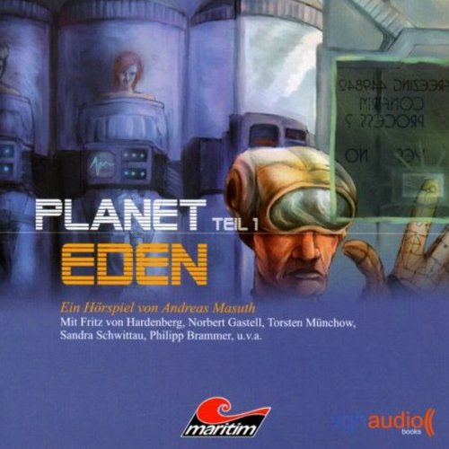 Planet Eden 1 audiobook cover art