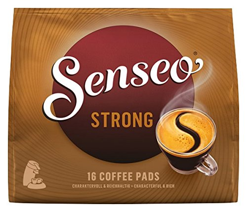 Senseo Pads Strong, 16 Kaffeepads für 16 Getränke