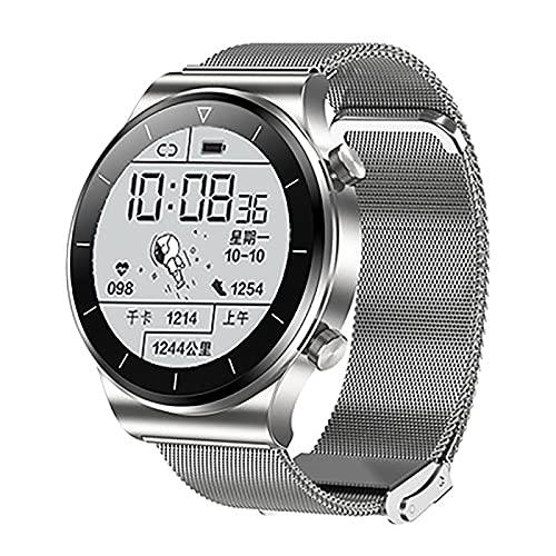 ZGZYL TM01 Smart Watch Watch Llamada De Bluetooth con Oxígeno De Sangre Y Monitor De Ritmo Cardíaco Rastreador De Fitness IP68 Reloj Impermeable para iOS Android Smart Watch,F