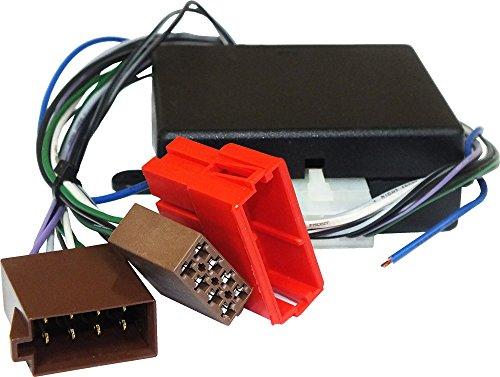 Connettore adattatore per collegare un'autoradio non originale su vetture con sistema hi-fi di serie con amplificatore Bose system (Senza fibra ottica) Per sistema posteriore e anteriore amplificati con Segnale autoradio amplificato. PER CONOSCERE LA COMPATIBILITA' CON I VEICOLI, CONSULTA LA SEZIONE 'DESCRIZIONE'