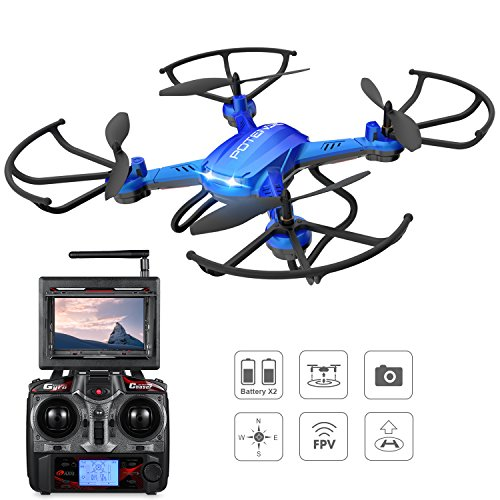 Potensic® Fonction Stepless-speed RC drone...