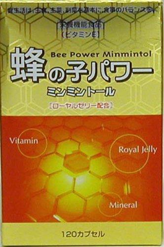 ナカトミ 蜂の子パワー ミンミントール 120カプセル