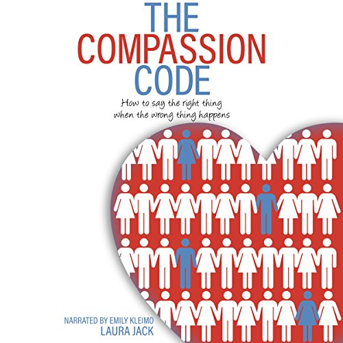The Compassion Code: How to Say the Right Thing When the Wrong Thing Happens audiobook cover art