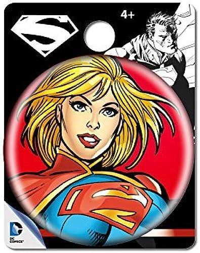 los clientes primero DC Comics Supergirl Single Button Button Button Pin Action Figure by DC Comics  compras online de deportes