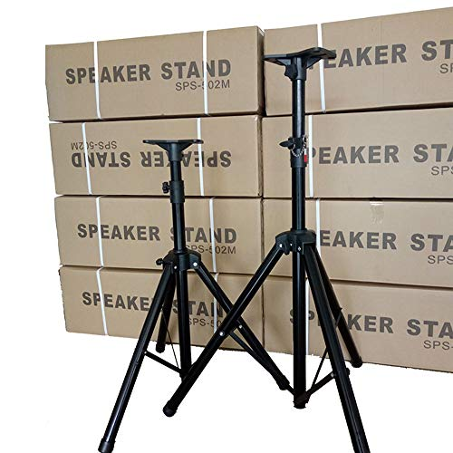 Tiziri 2PCS Tripod Speaker Stands Pair 110lb Load Pro Audio Stage With Monitor Mount Holder Tripod Stands For DJ Speakers 71 Inch - With Installation Video