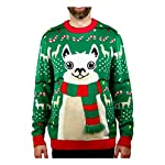 Llama Christmas Sweater FA La La Llama Ugly Sweater for Men Women 7 No drama for this christmas llama! a red and green tacky holiday themed long sleeve pullover sweater, featuring an adorable giant llama sporting a 3d fuzzy striped scarf that just screams festive fun Fa la la la llama - funny ugly xmas sweater for men and women - the unisex llama christmas sweater is perfect for llama lovers If you need to win an ugly christmas sweater contest, this cute, soft llama ugly christmas sweater is sure to take home the gold. Guaranteed to be the ugliest holiday theme sweater at the xmas sweater party, or your office ugly sweater party