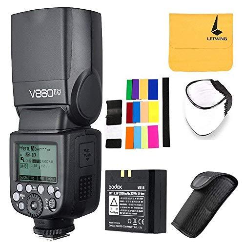 Godox V860II-C Pioneering 2.4G Wireless E-TTL II Li-on Camera Flash Speedlite