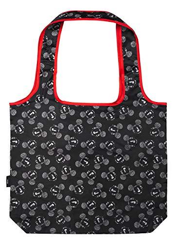 Baagl Faltbare Einkaufstasche Mickey - Eco Wiederverwendbare Tasche - Umweltfreundliche Tragetasche für Lebensmittel