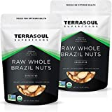 Terrasoul Superfoods Organic Brazil Nuts, 2 Lbs (2 Pack) - Raw   Unsalted   Rich in Seleni...