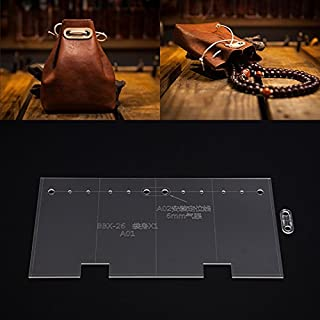 NW Coin Purse Acrylic Template Handbag Leather Pattern Acrylic Leather Pattern Leather Templates for Wallet