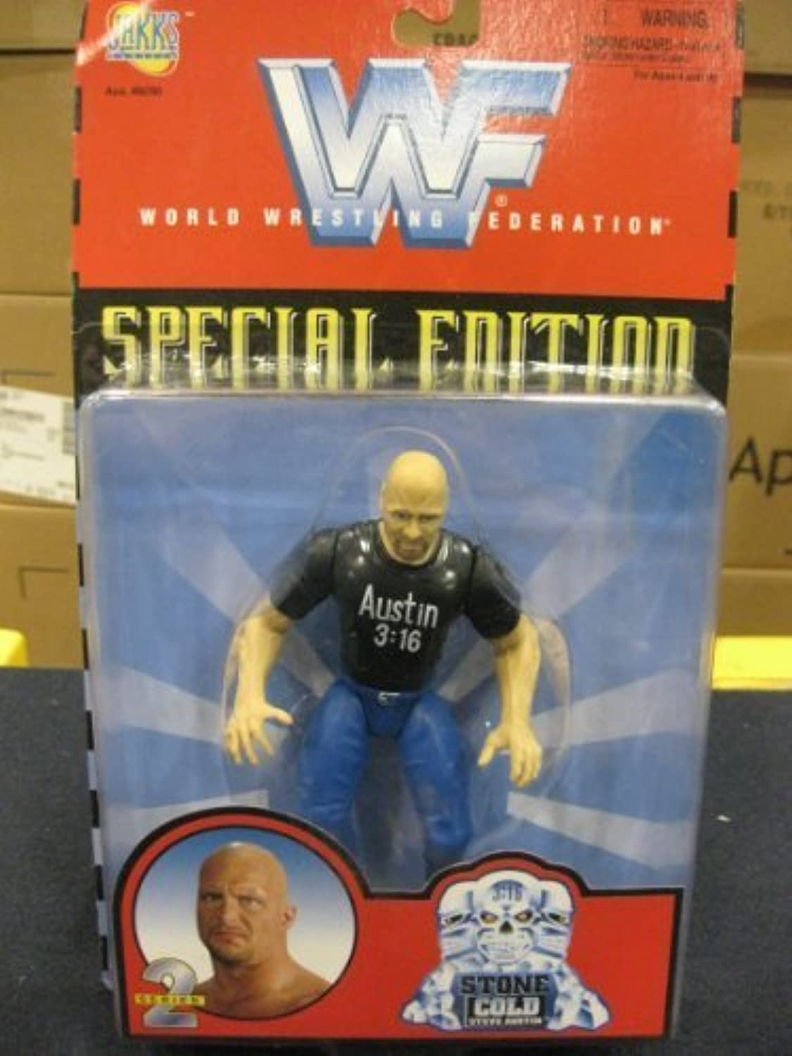 WWF Special Edition Series 2 - Stone Cold Steve Austin by WWE