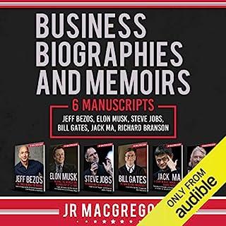 Business Biographies and Memoirs: 6 Manuscripts audiobook cover art