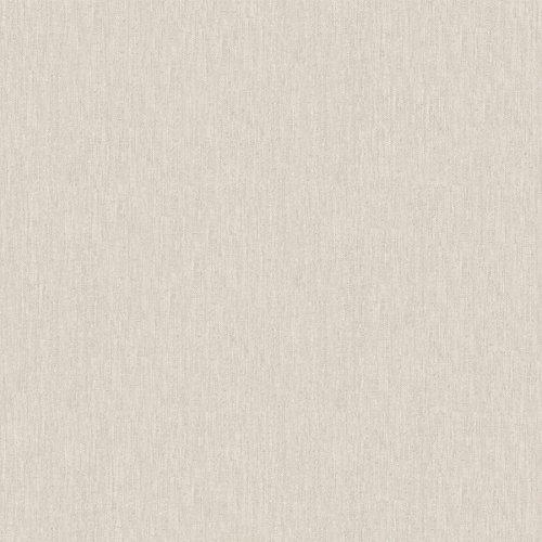 Tapete Beige - Uni - für Schlafzimmer oder Wohnzimmer - Made in Germany - 10,05m x 0,70m - 58218