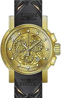 Invicta Men's 48mm Beige Silicone Band Steel Case Quartz Watch 28188