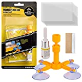 New Windshield Repair Kit, DIY Car Windshield Repair Kit Quick Fix for Fix Windshield Auto Glass for Fix Windshield Chips, Cracks, Bulls-Eye, Star-Shaped and Half-Moon Cracks