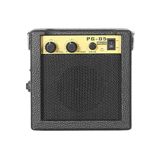 E-WAVE PG-05 5W Mini-Gitarrenverstärker Gitarrenverstärker mit 3-Zoll-Lautsprecher Gitarrenzubehör für akustische E-Gitarre
