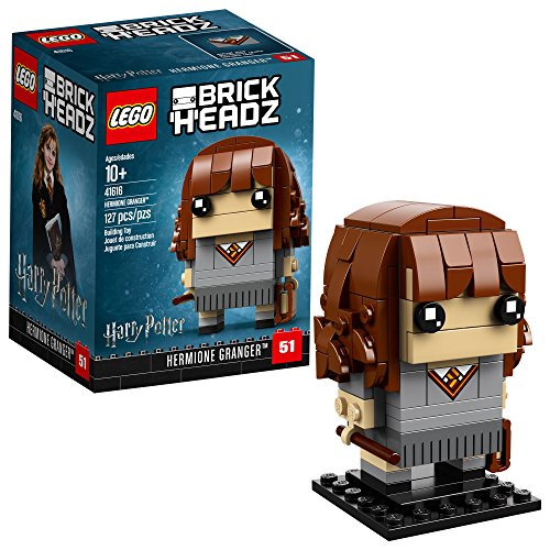 LEGO BrickHeadz Hermione Granger Building Kit, 127 Piece, Multicolor