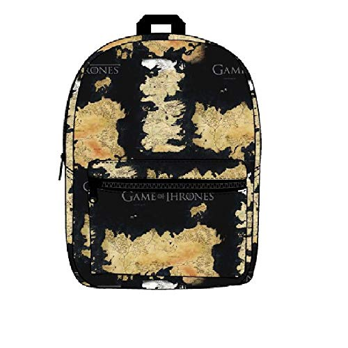 Bioworld Merchandising / Independent Sales Game of Thrones Westeros and Essos Map Backpack Standard