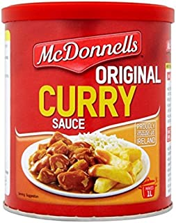 McDonnell's Curry Sauce 1L Tub 250g (8.8oz)