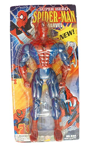 Vintage Super Hero Spider-Man Marvel New 16 Inch Action Figure 1970's / 80's China Made Mint On Card - Shop Stock Room Find