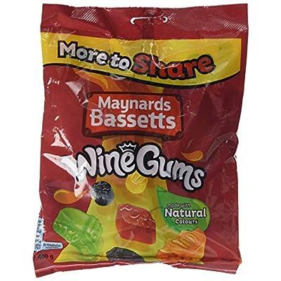 maynards bassetts wine gums sweets bag, 400 g Maynards Bassetts Wine Gums Sweets Bag, 400 g 51tLBF1aAJL
