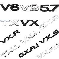 トヨタ用PRADO LAND CRUISER LAND FREE GXR VXR VXR TXL VXレターバッジステッカーフェンダーバンパートランクエンブレムデカールアクセサリー