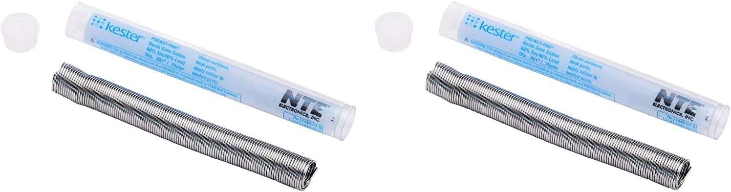Kester 83-4000-0000 SN60PB40 Credence Solder Pocket Wire Pack 0.031