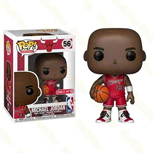 LiQi Funko Pop NBA Basketball Star Adornos Muñeca-Jordania # 56
