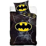 DC Universe BAT186001 Batman Wende-Bettwäsche Set 140 x 200cm