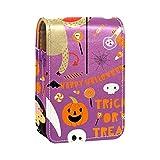 ColorMu Mini Monedero con Espejo Lipstick Makeup Bag Animales con Disfraces de Halloween.