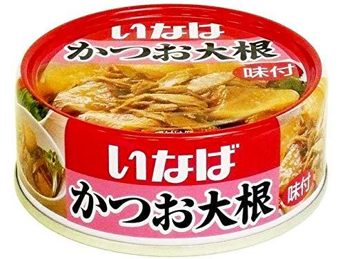 いなば食品 かつお大根 100g缶×24個入