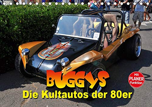 Buggys - die Kultautos der 80er (Tischkalender 2020 DIN A5 quer): Mit dem Kult-Klassiker der 80er durch das Jahr (Geburtstagskalender, 14 Seiten ) (CALVENDO Mobilitaet)