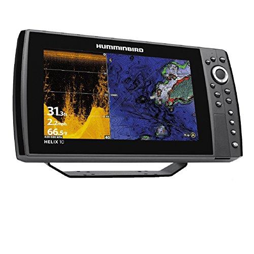 Humminbird 410110-1 Helix 10 Chirp Di GPS G2N Fishing Charts & Maps