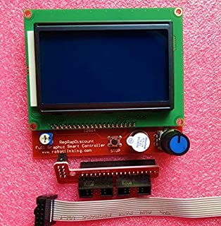 12864 LCD Ramps Smart Parts RAMPS 1.4 Controller Control Panel LCD 12864 Display Monitor Motherboard Blue Screen Module