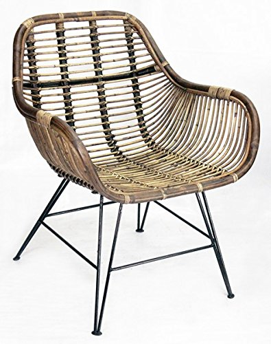 Way Home Store butaca de jardín de Bambú Marrón–Modelo Nicole 69x 66x79cm