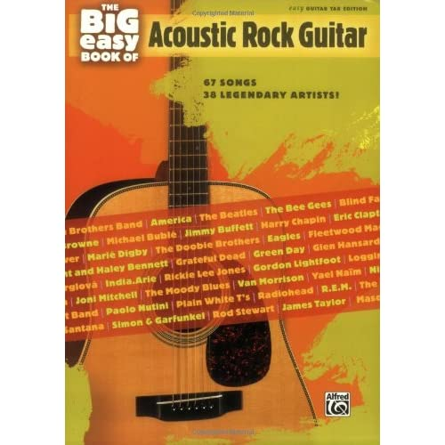 Legendary Acoustic Guitar Songs TAB Music Book in Presentation Box