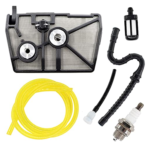 USPEEDA Air Filter Tune up Kit with Fuel Line for Stihl 028 028AV 028WB 028Wood Boss Chainsaws Replace11181201610