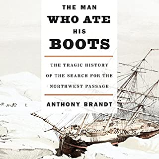 The Man Who Ate His Boots audiobook cover art