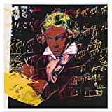 WTHKL Mode groß Andy Warhol Beethoven 1987 Leinwand