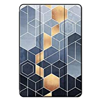 Agger iPad pro 9.7 2016/iPad Pro 保護カバー,耐衝撃性 レザー 落下抵抗 三つ折タイプ 傷防止 3つ折り スタンド機能付き スタンドケース iPad pro 9.7 2016/iPad Pro Case-グラフィックス 5