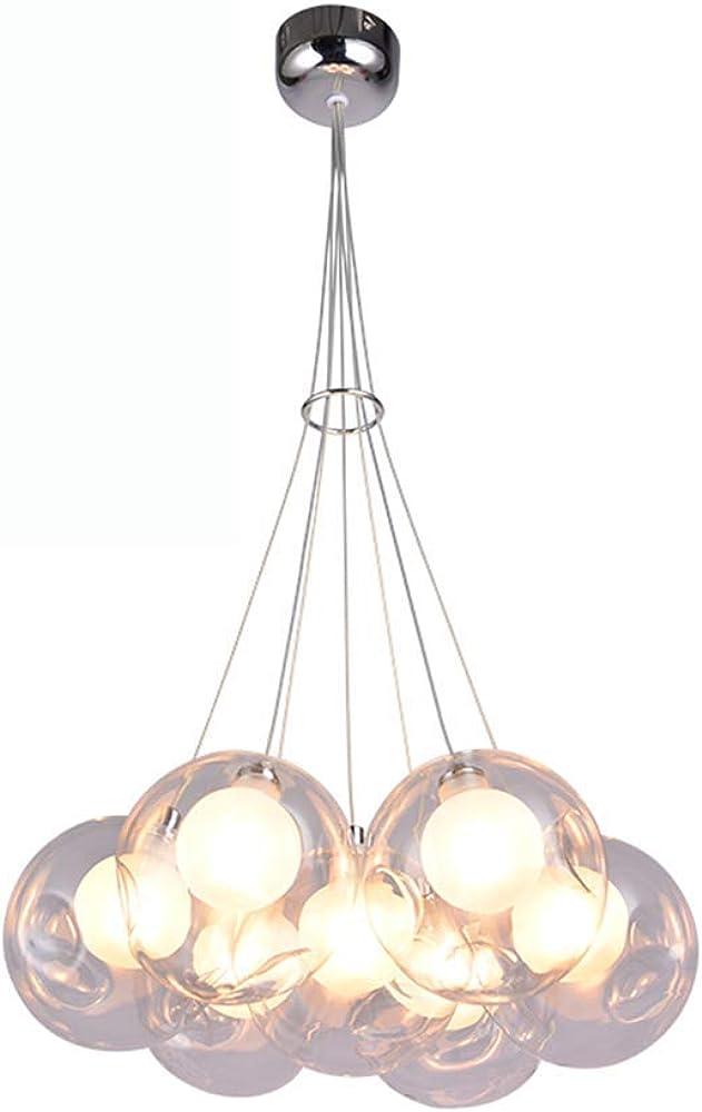Lampadario a sfera bubble glass RREN980312
