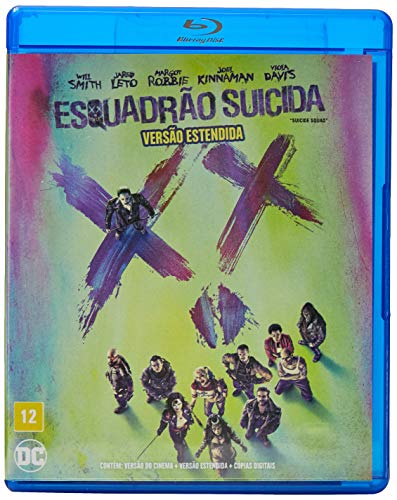 Esquadrão Suicida [Blu-ray]