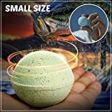 Fish Attractant Soft Bait Smell Lure Fishing Bubble Artificial Pellets Carp Baits Floating Ball Beads Feeder (RED (Fishy))