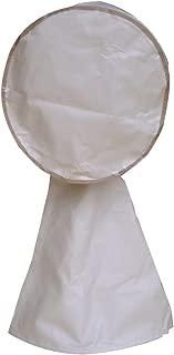 Abba Patio Dust Fan Cover for Electric Fan, Dustproof Safety Fan Mesh Protection, Beige, 18